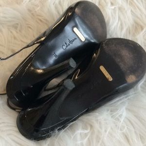 Cole Haan Shoes - NIKE AIR 💞COLE HAAN 💞patent leather sandals